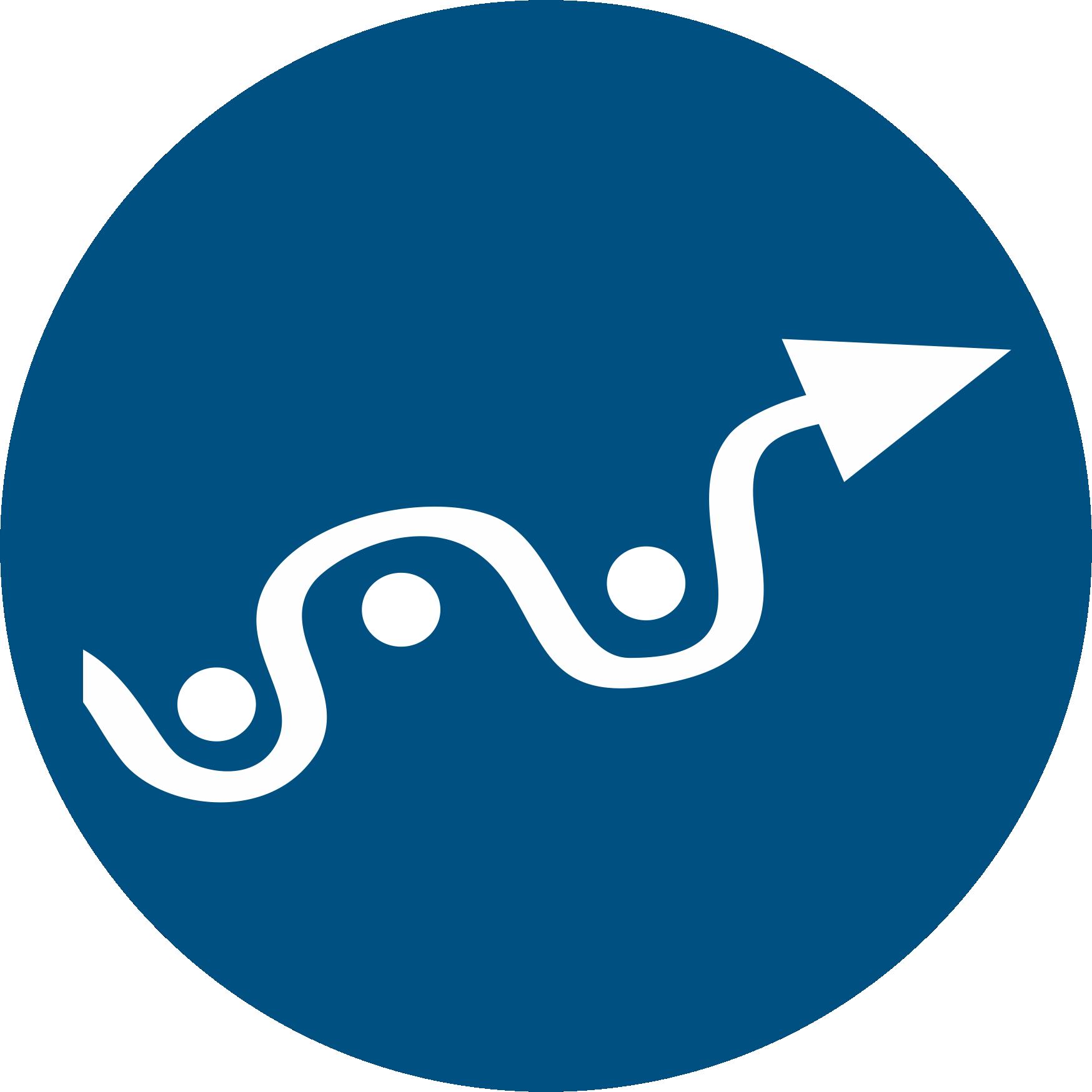 Slalom-Symbol